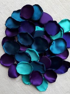 Purple Color Schemes, Color Schemes Colour Palettes, Blue Colour Palette, Purple Color Combinations, The Beast, Halloween Party Supplies, Satin Roses, Vintage Design, Rose Petals
