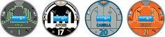 Chapas de Futbol: CHAPAS NEWCASTLE UNITED 2014/15 http://uk.ebid.net/items/bgandc