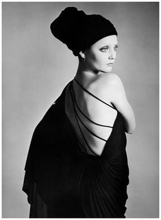 Ingrid Boulting photographed by Richard Avedon, 1970