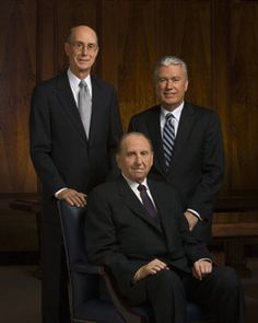 The First Presidency: The Church of Jesus Christ of Latter-day Saints: Thomas S. Monson, Henry B. Eyring, Dieter F. Uchtdorf