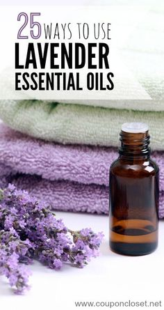 Lavender is one of my favorite essential oils. It smells amazing and can be used so many ways. Here are my favorite 25 Lavender essential Oil Uses
