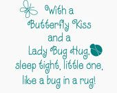 such a cute saying for a kids room awww love it!!