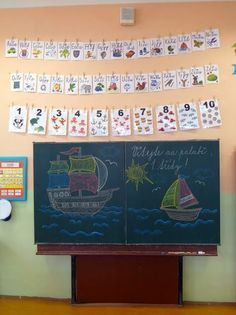 tabule Sailor Theme, Family Drawing, School Decorations, Primary School, Classroom Decor, Kids And Parenting, Diy And Crafts, Teacher, Album