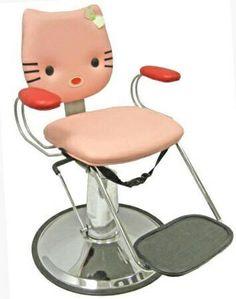 Hello Kitty Barber Chair