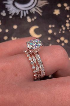 bridal sets rose gold wedding rings classic wedding rings diamond rings best rings solitaire rings rings 21 Amazing Bridal Sets For Any Style Engagement Ring Rose Gold, Popular Engagement Rings, Dream Engagement Rings, Wedding Rings Rose Gold, Designer Engagement Rings, Wedding Jewelry, Halo Engagement, Wedding Gold, Wedding Ring Set