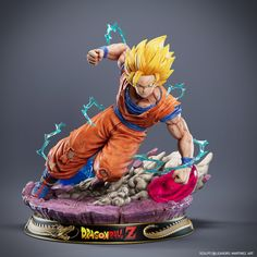 Figurines D'action, Anime Figurines, Ssj3, Anime Toys, Dragon Ball Gt, Character Modeling, Manga Characters, Fan Art, Decoration