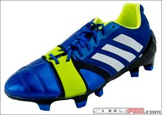 adidas Nitrocharge 1.0 TRX FG Soccer Cleats - Blue Beauty...$179.99