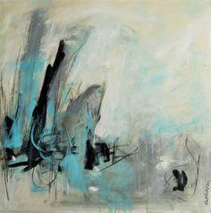 "Contemporary Painting - ""Bridge of Sighs"" (Original Art from Kat Crosby Art)"