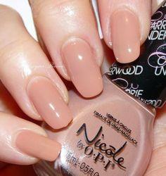 Nude Color Polish. Nicole by OPI - Bellashoot.com