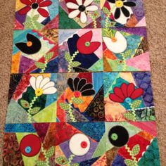 my sisters crazy quilt