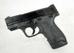 Smith & Wesson M & P Shield 9mm *NIB*. A slim, concealable, lightweight, striker-fired polymer pistol. It features a slim design combined with the proven and trusted features found in the M Pistol Series. From the pistol's easily concealed one-inch profile to its optimized 18-degree grip angle, the M SHIELD offers professional-grade features that provide consumers with simple operation and reliable performance. 3-dot sight. 7 & 8 round capacity. 19 oz. $409.99