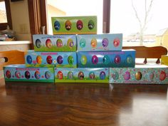 Lot 8 SETS Wooden WHITE HOUSE EASTER EGG SETS ALL 8 YEARS of OBAMA 2009-2016 NEW