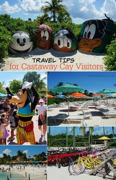 Heading to Castaway Cay on a Disney cruise? Some tips on how to maximize the fun on Disney's private island in the Bahamas. disney cruise, crusing with disney Cruise Tips, Cruise Travel, Cruise Vacation, Disney Vacations, Vacation Ideas, Bahamas Vacation, Disney Travel, Honeymoon Ideas, Vacation Spots
