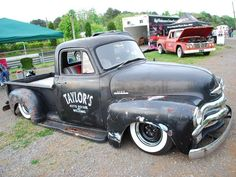 rat rods | Chevy Pickup Rat Rod Rumble Photo 11