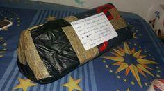 Kirim paket ke rumah nun jauh di sana ;)