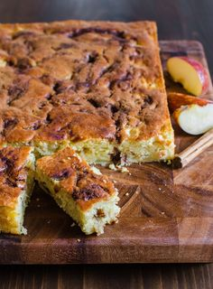 Recipe: Apple Yogurt Cake with a Cinnamon-Sugar Streak