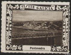 Pontevedra : [Viñeta con imagen del Puente antiguo del Ferrocarril sobre el río Miño] / [fotógrafo, Luis Casado Fernández]. http://aleph.csic.es/F?func=find-c&ccl_term=SYS%3D001529017&local_base=MAD01