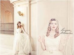 San Francisco City Hall Wedding  ( Photo: Shannon Stellmacher, Bridal Couture, Amy Jo Tatum )
