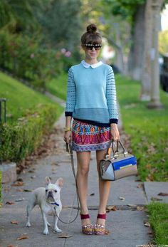 Quirky street style