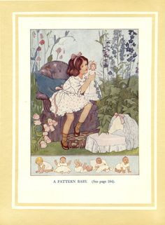 1920s Margaret Tarrant Childrens Book by suesancollectibles $14.50