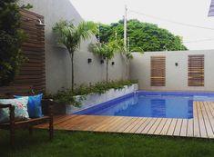 Área de lazer com piscina: 85 ideias para você se inspirar e criar a sua