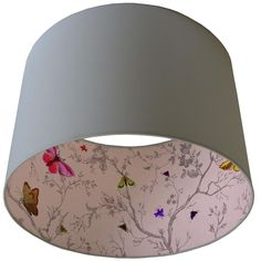 Timorous Beasties Lampshades - If we went for drum shades over Nelson lights, these are nice. Blue Lamp Shade, Drum Shade, Lamp Shades, Light Shades, Duck Egg Blue Lamp, Luminaria Diy, Diy Lampe, Timorous Beasties, Ideas Hogar