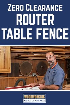 From drawer lock joints to rail and stile doors, it stinks when your projects end up with ugly chips and tear out caused by the router table. A zero-clearance fence is a simple solution to this common problem. Don't let the chips fall where they may. Eliminate them! A WoodWorkers Guild of America (WWGOA) original video.