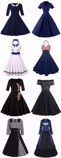#Vintage #Dress Start From $8.88 | Up To 80% OFF |Sammydress.com