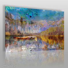 Obraz płótnie pejzaż góry 120x80 30701 obrazy vaku dsgn krajobraz