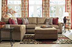 Amber Courtmeyers 2-Piece Sectional View 1