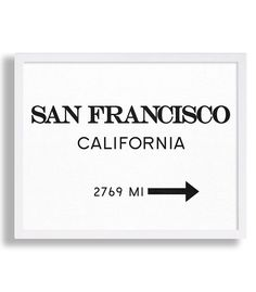 San Francisco Print Travel Poster Living Room Decor California Wall Art Modern Art City Sign Art Vintage Look Black and White Typography Art by MetropolisPrints on Etsy https://www.etsy.com/listing/262391553/san-francisco-print-travel-poster-living