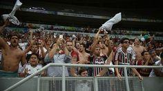 Torcida do Fluminense em Brasília