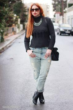 Boyfriend jeans & booties 3- outfit - DoYouSpeakGossip.com