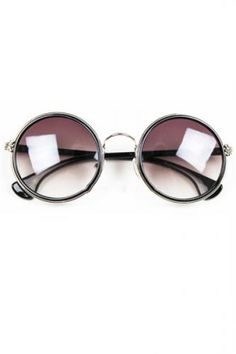 88ef137ac3 Sweet Vintage Round Sunglasses Cheap Fashion