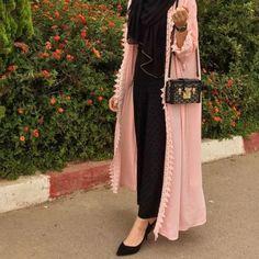 Open abaya hijab style – Just Trendy Girls