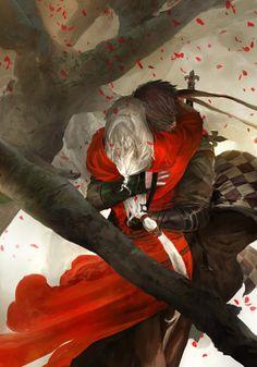 The Wolf and The Red   kekai kotaki