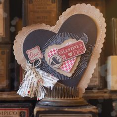 Brown packing paper from Great Sport, Ciao, Baby!, That's the Ticket stamp sets, white craft ink, Hearts A Flutter Framelits, Heart Framelits, Ticket Duo punch,   Kimberly Van Diepen stampin Up! Demonstrator