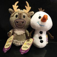 Hallmark Sven and Olaf Disney Frozen Itty Bittys