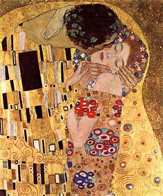 Fotomurales: El beso_Klimt