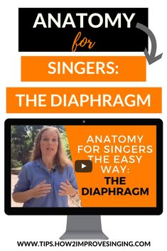 Learn anatomy for singers the easy way.. It does not have to be boring or difficult!