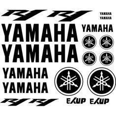Yamaha R1, Logo Yamaha, Ducati, Ktm, R Vinyl, Vinyl Decals, Custom Vinyl, Pictures To Draw, Banners