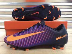 Nike Mercurial Veloce III 3 FG Soccer Cleats Purple Dynasty Citrus (847756-585)