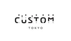 custom tokyo logo Typography Logo, Logo Branding, Type Design, Graphic Design, Japan Logo, Online Business Opportunities, Mosaic Designs, Cool Logo, Logo Design Inspiration