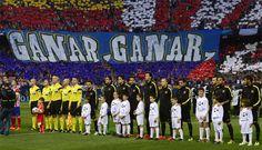 Atlético Madrid recibe al Barcelona. April 09, 2014