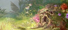 disney background art - Google Search
