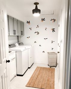 Today I'm making over a laundry room in 5 easy steps and show you how to make yours pretty and organized — big or small.