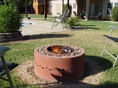 How To Make A Fire Pit for Around $50.00 Project