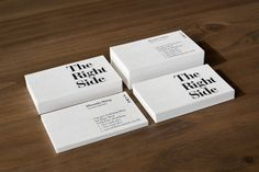 The Right Side by Toby Ng, via Behance