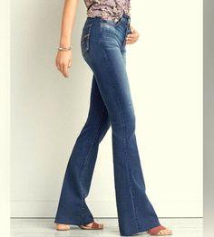 ad2f6c0ce11 AMERICAN EAGLE NEW Jeans Womens 16 Short Hi Rise Slim Flare Super Stretch X   AmericanEagleOutfitters