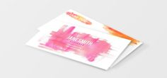 watercolor business card - Google Search